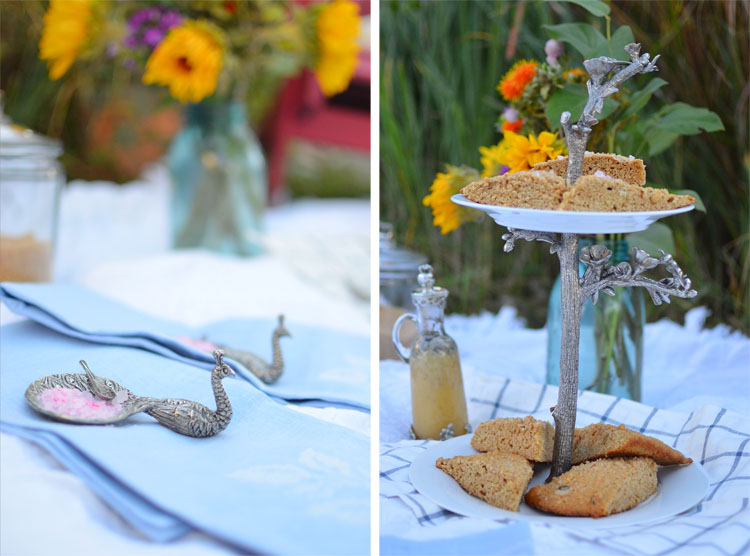 Vagabond House Gourmet Picnic Tablescape with Amy Renea