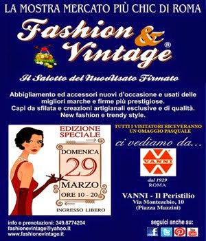 Fashion & Vintage - 29 Marzo