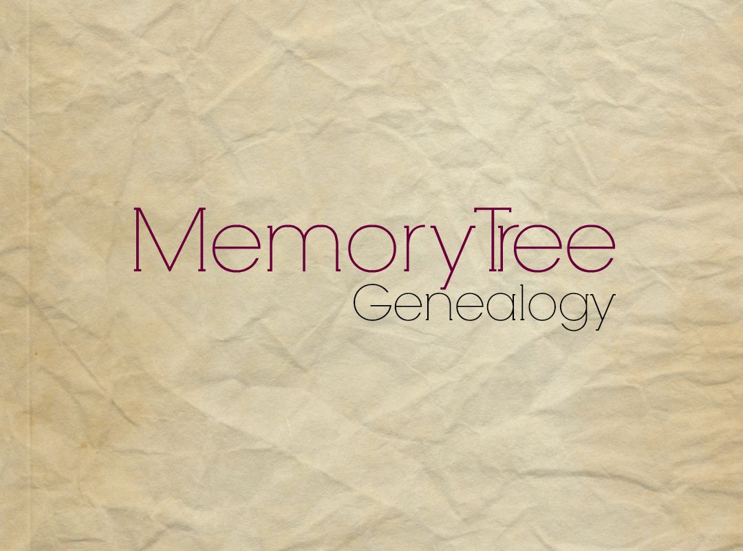 Memory Tree Genealogy Journal