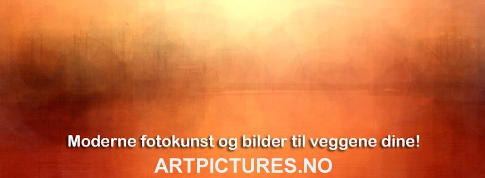 Dekorativ kunst - moderne digital fotokunst og veggbilder.