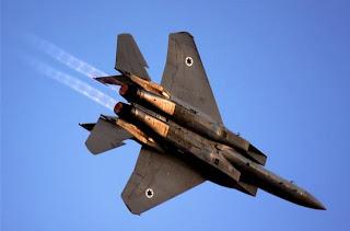 pesawat tempur israel dijatuhkan tentara Syria