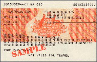 Pengalaman Buat Visa Turis Australia