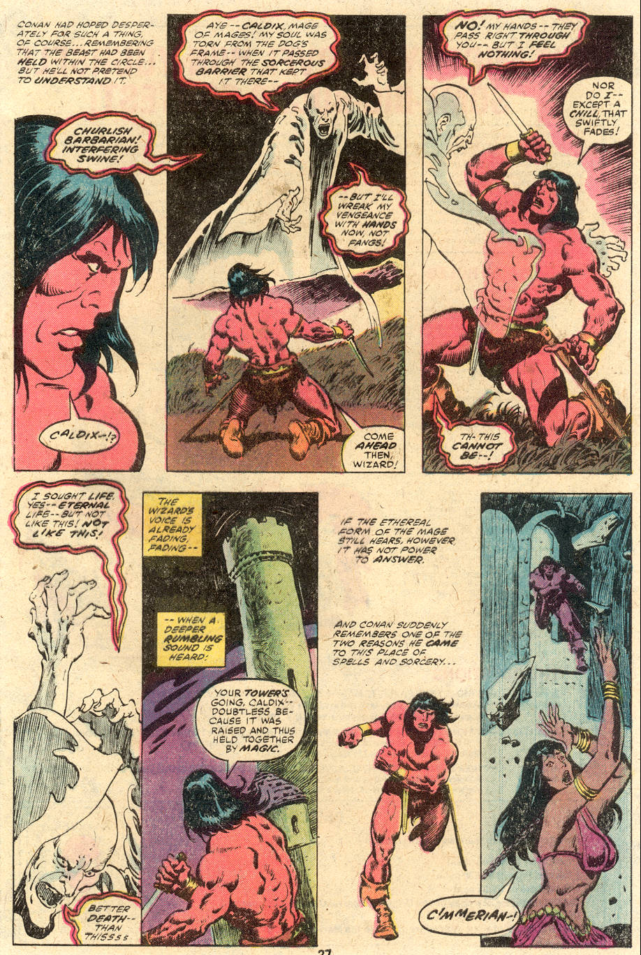 Conan the Barbarian (1970) Issue #114 #126 - English 17