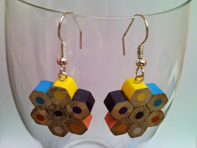 How To Recycle Upcycled Colored Pencils Accesories