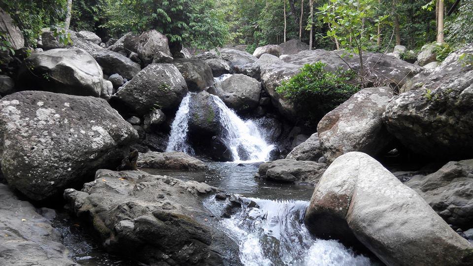 kolam kecil sungai rappoang