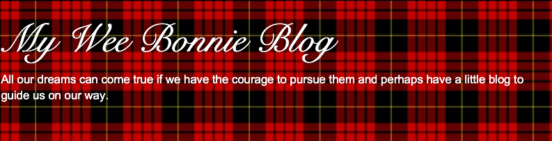 My Wee Bonnie Blog