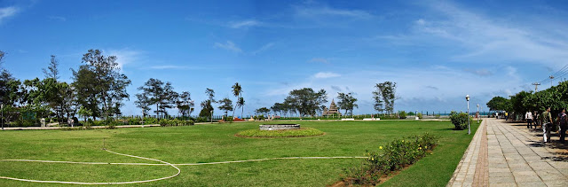panoramic view of the Shore Temple