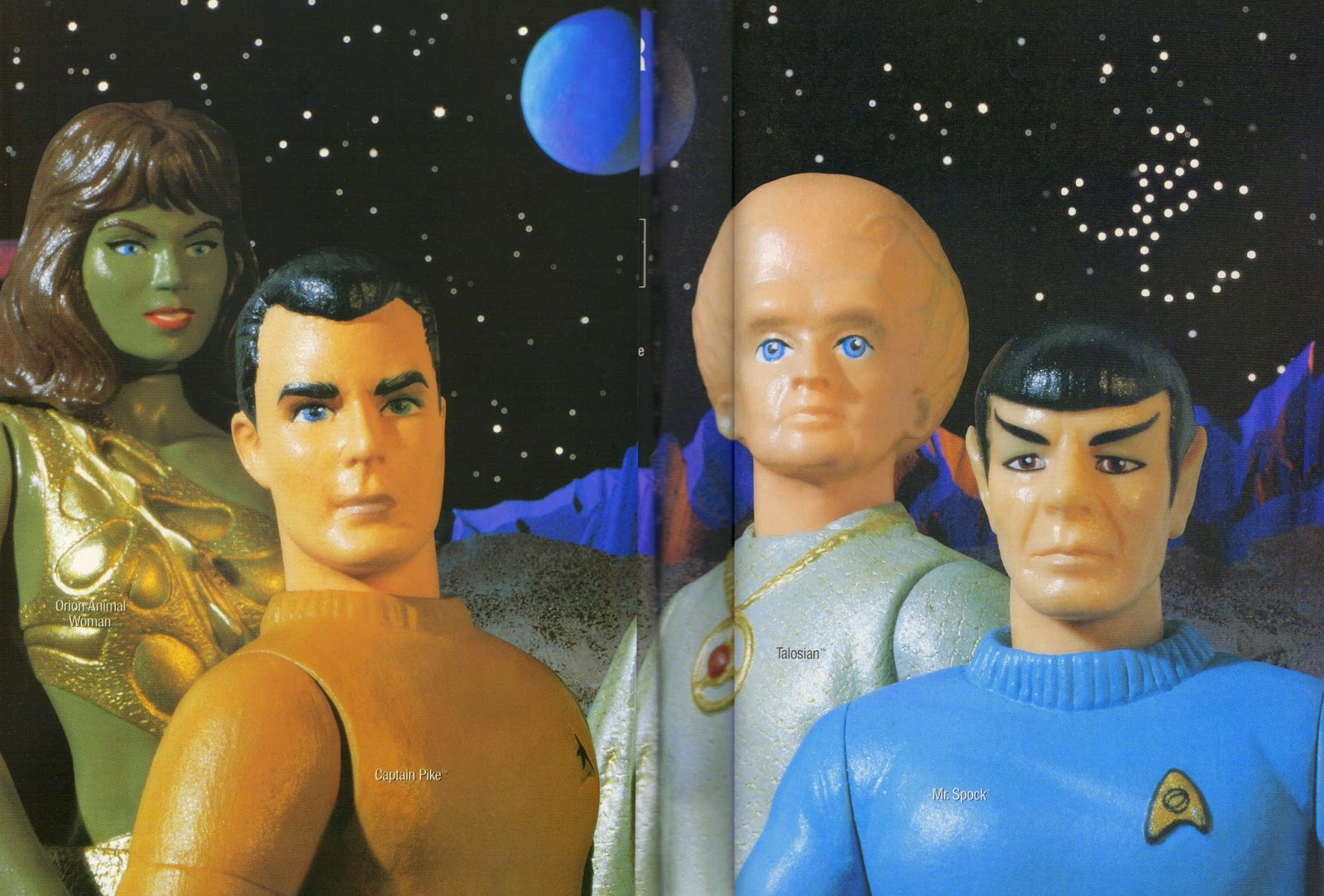 Star Trek Playmates Advertisement 30th Anniversary