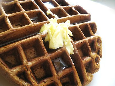 Pumpkin Gingerbread Waffles | Lisa's Kitchen | Vegetarian Recipes ...