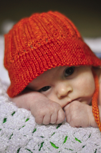 Knit Baby Hats Pattern : knitnscribble.com: Knitting and crochet patterns for sun hats