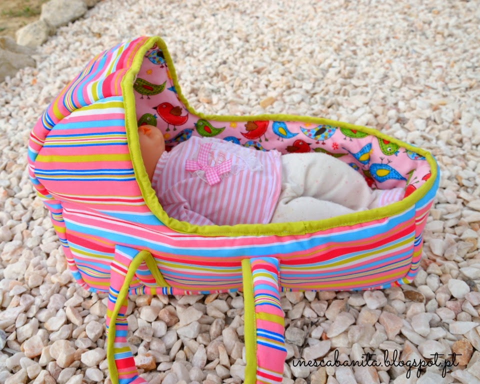 baby doll basket by made