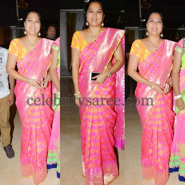 Hema Silk Saree at Kayyum Wedding