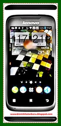 Harga dan Spesifikasi Handphone Lenovo A369i Dual Sim 4GB - Black