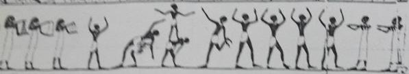 أشكال الرقص المصرى القديم