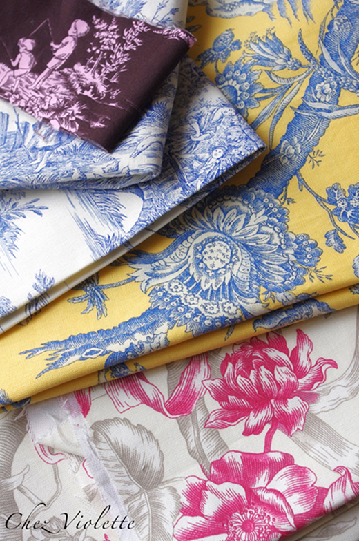 French toile collection by Chez Violette