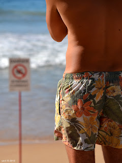 strong currents, flowery shorts