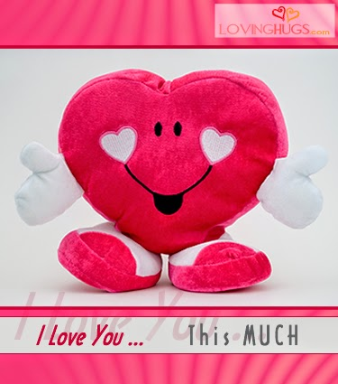 heart toy hug
