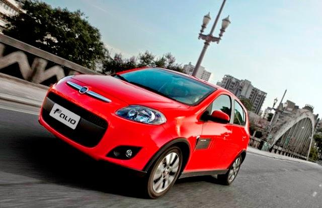 Novo Fiat Palio 2015 fotos