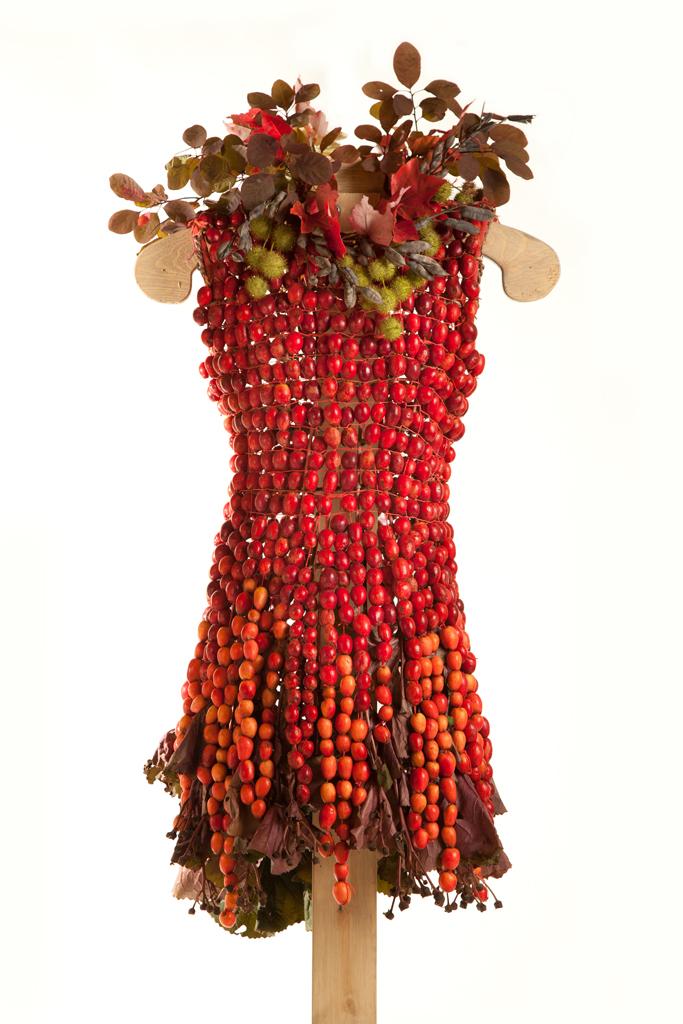 Платье с лифом из цветов своими руками