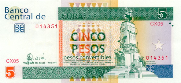 Cuban peso cuba