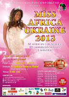 MISS AFRICA UKRAINE 2013