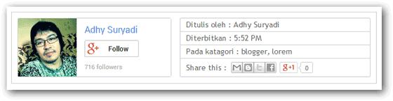 Screenshot Author Box