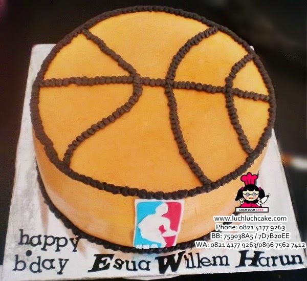 Kue Tart Ulang Tahun Bentuk Basket Daerah Surabaya - Sidoarjo