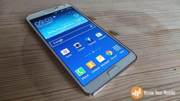 Galaxy Note 3 Left Bottom