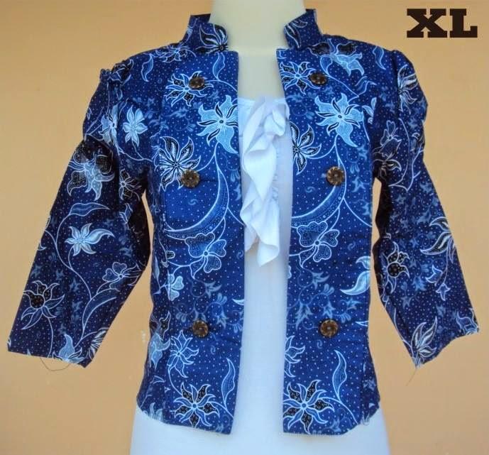 blazer-batik-motif-anjani-dongker