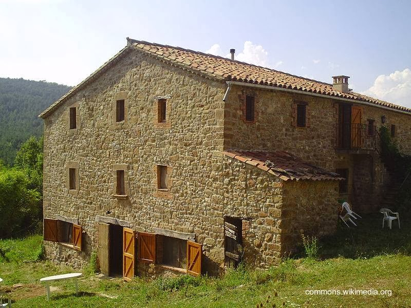 Arquitectura de casas casa de campo mas a cerca de barcelona - Casas rurales bcn ...