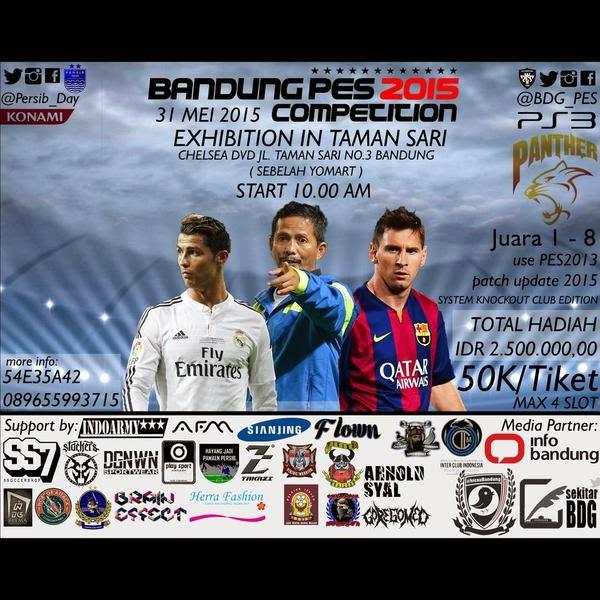 PES 2015 Tournament di Bandung Mei 2015