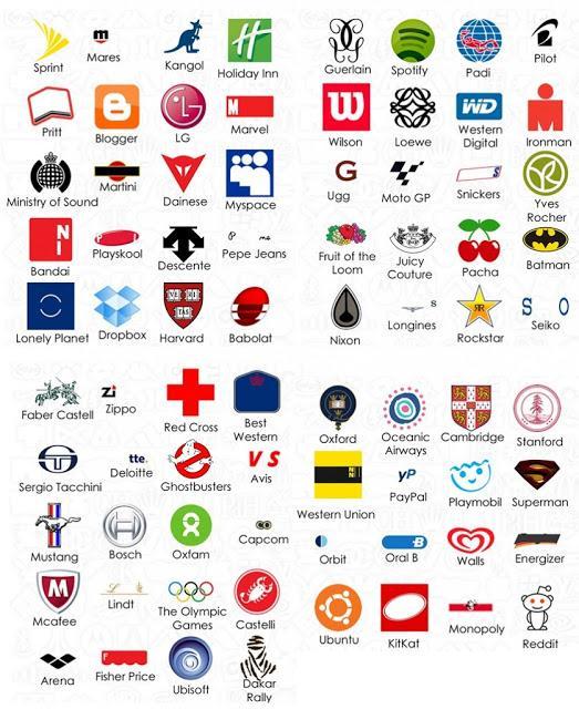 Respuestas del juego logo Quiz: mars 2013