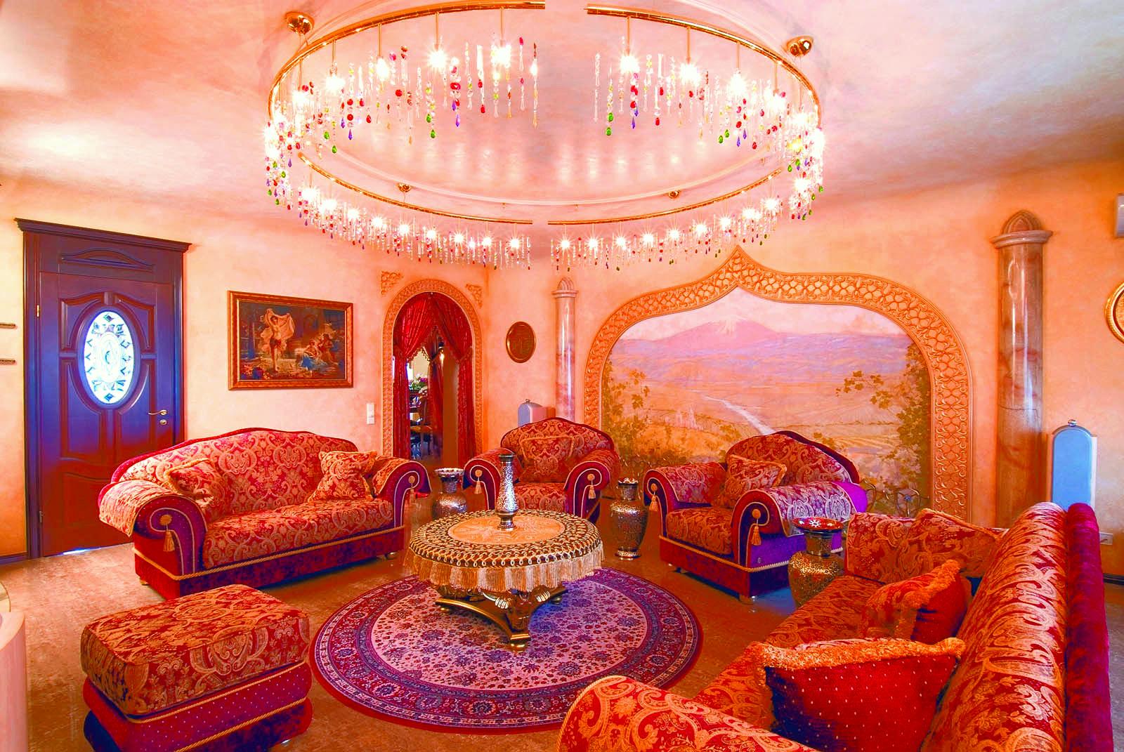 Mungkin ruang tamu seperti ini menjadi idaman ramai.
