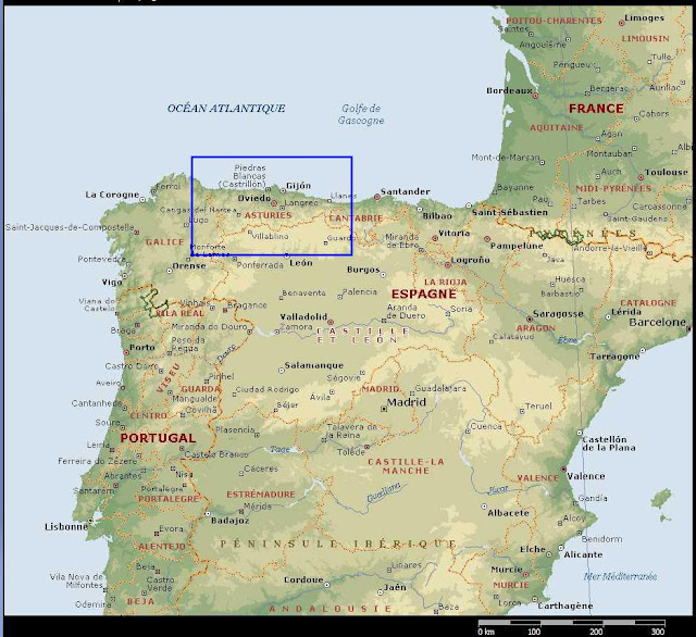 oviedo carte •▷ Voyages   Cartes