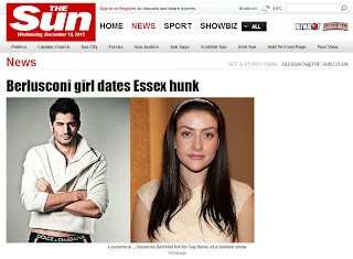 Silvio's daughter Eleonora Bartolini on The Sun, as she dates Guy Binns