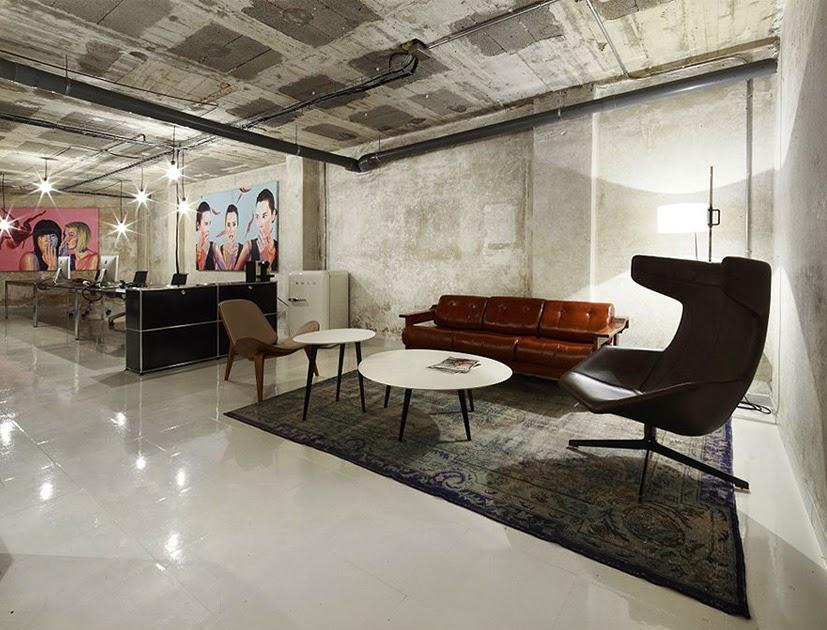 Heteruf designs oficina concepto mezcla de estilos dirty for Oficinas modernas concepto