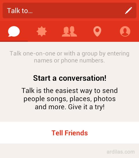 Talk - Kenali Aplikasi Path dan Fiturnya - Android