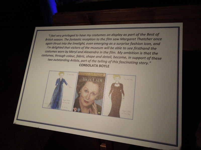 Iron Lady Costume Exhibit Consolata Boyle