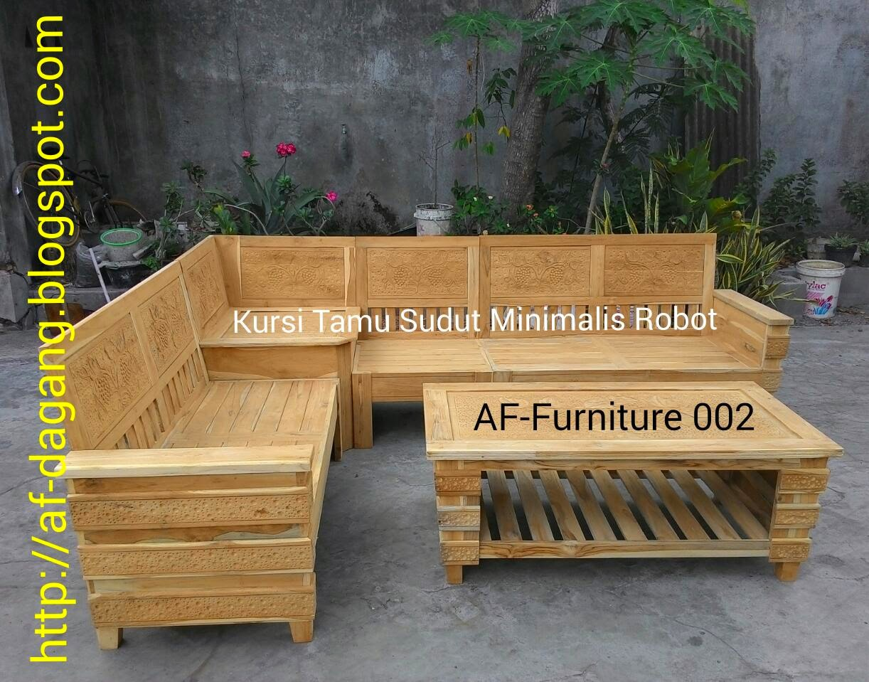 Abu Fawaz Dagang Furniture Jati Ukir Dan Minimalis Kursi Tamu Sudut