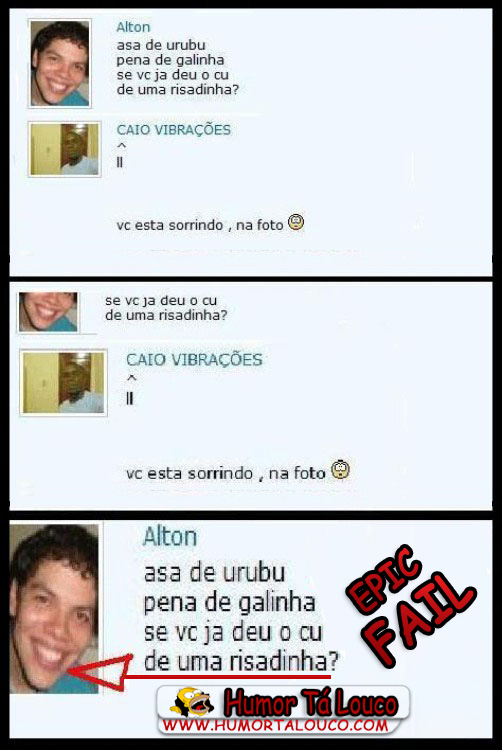 Epic FAIL no Orkut