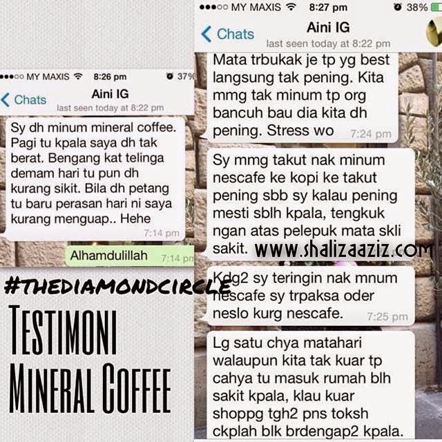 Mineral Coffee bantu kurangkan menguap