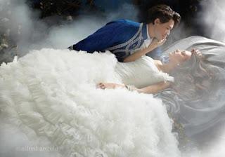 فساتين زفاف ليلة ليلة