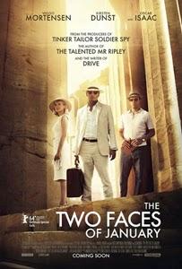 Poster original de Las dos caras de enero