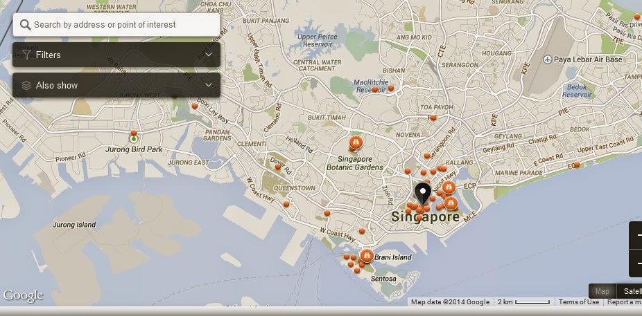 About Singapore City MRT Tourism Map And Holidays Wak Hai Cheng - Haicheng map