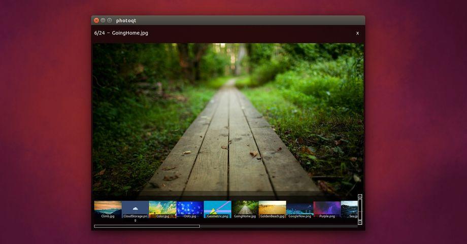PhotoQt in Ubuntu