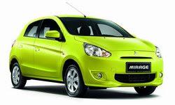 Daftar Harga Mobil Mitsubishi Mirage 2013