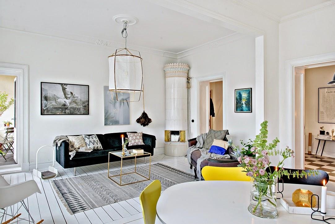 Apartamento nórdico lleno de luz | DEF Deco - Decorar en familia4