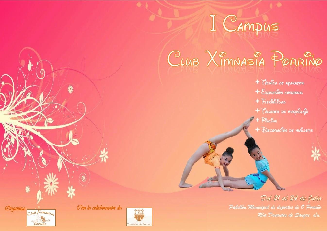 Inscripción I Campus Club Ximnasia Porriño