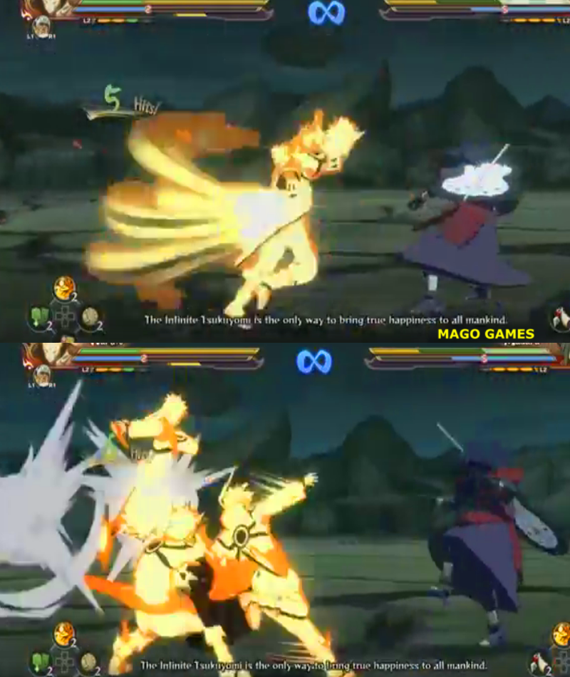 how to play naruto shippuden ultimate ninja storm 4
