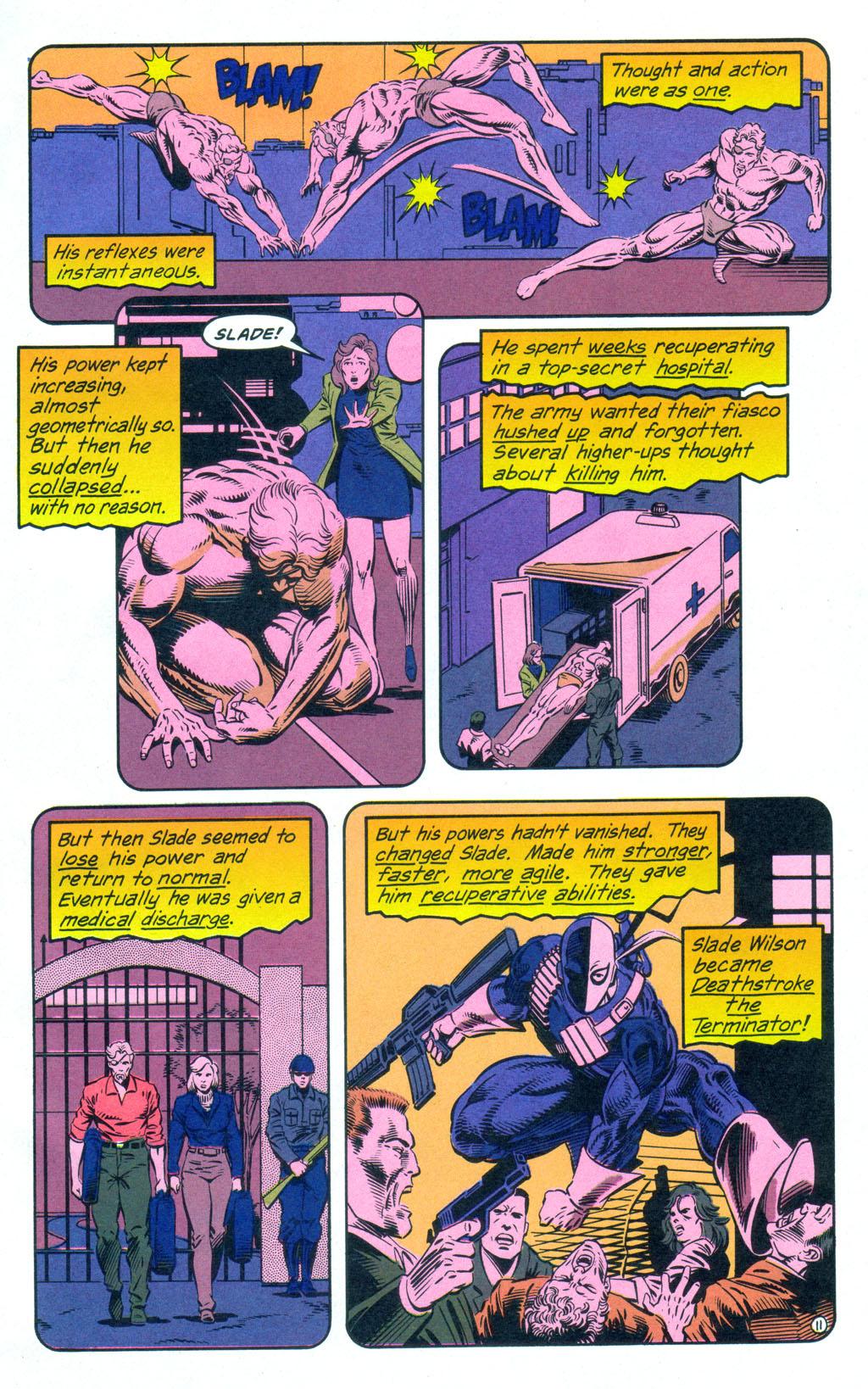 Deathstroke (1991) Annual 3 #3 - English 12